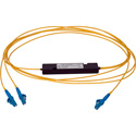 Camplex CMX-SM1X2LC-001 Singlemode LC Fiber Optic 1x2 Splitter Cable - 1 Foot