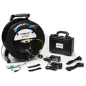 Camplex CMX-TACNGO-3GTR 3G-SDI to Fiber Optic Converter/Extender & Tactical Cable Reel System - 1000 Foot