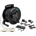 Camplex TACNGO-4KIR 4K HDMI with IR Control Tactical Fiber Optic Cable Reel Extender System - 1000 Foot