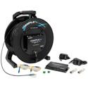 Camplex TACNGO-4KRS 4K HDMI 2.0 EDID & RS-232 Tactical Fiber Optic Cable Reel Extender System - 1000 Foot