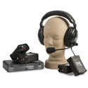 Portacom 2 Channel 4 Dual Muff Headset Intercom System with Cables