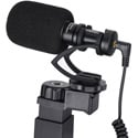 Comica CVM-VM10-K2 On-Camera Directional Cardioid Mic with Phone Holder