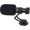 Comica CVM-VM10II-B Mini On-Camera Directional Shotgun Mic for Smartphones & DLSRs - Black