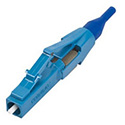 Corning 95-200-99 Unicam High-performance Connector - LC Single-mode (OS2) Ceramic Ferrule - Blue Housing/Blue Boot