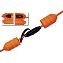 Photo of Cord Connect Watertight Cord Lock - OSHA Orange