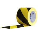 Pro Tapes 001CP630MSS 6-Inch x 30 Yard Yellow/Black Safety Stripe Cable Path Tape