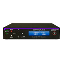 Contemporary Research  QIP-HDMI 2  IPTV Encoder with H.264 -  HDMI/Composite/Analog Stereo/SPDIF Inputs