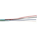 SCP CREST-1 2-Condcutor 22AWG Data & 2-Condcutor 18AWG Power Crestron Cable - 1000 Foot Teal