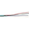 2-Condcutor 22AWG Data & 2-Condcutor 18AWG Power Crestron Cable - 1000 Foot Teal