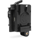 Core SWX CXV-KOMU RED Komodo BP Mount to Micro V-mount Plate with -tap Port / USB / 2p LEMO & SMBUS Camera Communication