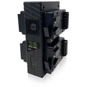 Core SWX GP-X4S Compact V-Mount 4-Position Fast Charger - 4hr Charger For Two 98wh Packs/3a Fast Charge - Upright Design