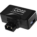 Core PTUSB5  Male D-Tap to USB & Female D-Tap Power Adapter