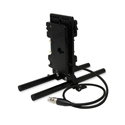 Core SWX 15mm Rail Mount Cheese Plate with Hotswap 3-Stud Battery Adapter with 18in 4P XLR