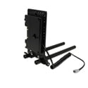 Core SWX 15mm Rail Mount Cheese Plate with 3-Stud Battery Plate with 10in 2-Pin Coil Cable for Blackmagic Pocket 4K & 6K