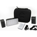 Core SWX TL-BT300 TorchLED Bolt 300 3200-5600K 300Watt On-Camera LED Light with Custom Carry Case - 95 CRI