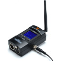 City Theatrical 5903 Multiverse Node 2.4GHz Wireless DMX Transceiver - Licensed for Worldwide use
