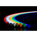 City Theatrical N914-RGB-5 QolorFLEX NuNeon LED Light Tape - 622/518/468nm Color Temp - Red/Green/Blue - 16.4 Foot