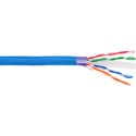 Clark Wire & Cable CAT6-0 Category 6 Shielded Network Cable - Blue - Per Ft