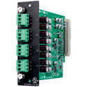 TOA D-971E Module - Four Balanced Line Outputs with Phoenix-Type Connectors
