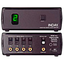 4x1 S/PDIF Digital Audio Switcher w/ Remote & RS232 Option & Cable