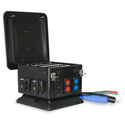 Lex Pro DBS200-A4BM2-RNG 200 AMP 3-Phase Distro with 4 Socapex Outs & 3 Edison with Cam Outs w/Reversed Ground & Neutral