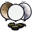 Dedolight Reflectors Silver/White Transparent