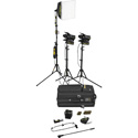 Dedolight SPS3-E Portable Studio 3-Light Tungsten Lighting Kit - 230V AC (European)