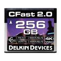 Delkin DDCFST560256 CFast 2.0 Memory Card 590/495 - 256Gb
