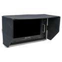 Delvcam DELV-4KSDI15 4K UHD HDMI 3G-SDI Quad View 6RU Rackmountable Broadcast LCD Monitor in Case - 15 inch
