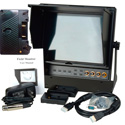 Delvcam 9.7in Dual Input HDMI Monitor and Anton Bauer Battery Plate