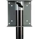 Delvcam Speaker Stand Pole Mount Adapter for Flat Panel TVs & Monitors