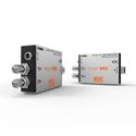 Digital Forecast UHD M-OTR-3GT / R SD / HD / 3G Dual SDI to LC Simplex Singlemode Fiber TX / RX Bundle w /  SFP Modules