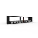 Digital Forecast UHD M-PLUS D UHD Micro Frame Dual Power Supply Rack - 120W/2RU