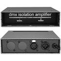 Doug Fleenor Design 121-3 DMX512 One Input  /  One Output Isolation Splitter  /  Amplifier - 3 Pin XLR