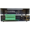 Doug Fleenor Design DMX12ANL-5 DMX to Analog Converter - 12-Ch - 0-10V Outputs (DMX Console - Analog Dimmers) 5pin XLR
