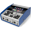 Digigram IQOYA TALK Portable Codec with LCD Touchscreen - 3x Mic Inputs/4x Phones Out/2x XLR I/O with Ethernet/WiFi/Cell
