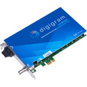 Digigram LX-MADI Multi-channel Sound Card with 1x MADI Optical I/O (64/64) with Word Clock I/O