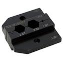 Neutrik DIE-R-BNCX-PU Crimp Die for HX-R-BNC Crimp Tool with Hex Crimp Size: 6.47mm - 7.36mm - 1.07mm