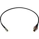 Laird DIN-1855-CBF-01 DIN 1.0/2.3 to BNC Female Chassis Mount 3G-SDI Video Interface Cable - 1 Foot