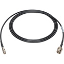 Laird DIN1855-B-1 Belden 1855A RG59 Sub-Mini 3G-SDI DIN 1.0/2.3 to BNC Male Video Adapter Cable - 1 Foot