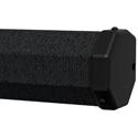 Da-Lite 93868 60 x 60 Inch Carpeted Picture King with Keystone Eliminator Tripod Screen - Square - Case Color - Black