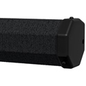 Da-Lite 93878 43 x 57 Inch Carpeted Picture King w/ Keystone Eliminator Tripod Screen - 4:3 Video - 72 Inch - Black