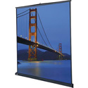 Da-Lite 98041 Floor Model C Pull-Up Front Projection Screen with Reduced Spring Tension for Ease of Use - 87x116 Inch