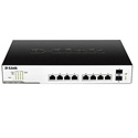 D-Link DGS-1100-10MP Smart Managed 10-Port Gigabit PoE Switch
