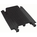 Checkers DO2-150 DO-Max Dual Channel Cable Protector - 20 Inch - Black