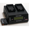 Dolgin TC200-FUJI-W126S-i Fast 2 Position Battery Charger - Accepts Fuji NP-W126S Batteries