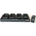 Dolgin TC40-JVC-650 4-Position Battery Charger for JVC GY-HM600/650