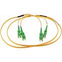 Cleerline DOS2SCSC010M-APC SC/APC-SC/APC-1.6mm Riser-OS2-10m Fiber Cable