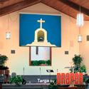 Draper 116023 Targa 161 Inch HDTV Matt White XT1000E 110 V