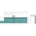 Draper 121286 Acumen XL-Floating Wall Brackets (Pair) - 6 x 4 Inch - Silver